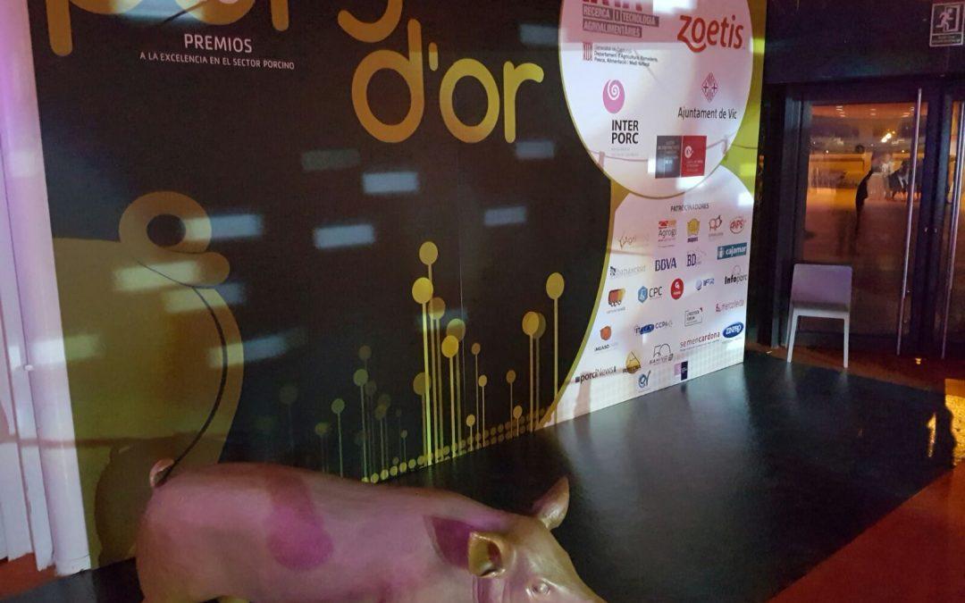 Itaca Europa junto con CCPA como patrocinadores en los premios Porc D'or 2016.